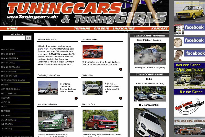 Tuningcars.de wird zu Tuningcars.org