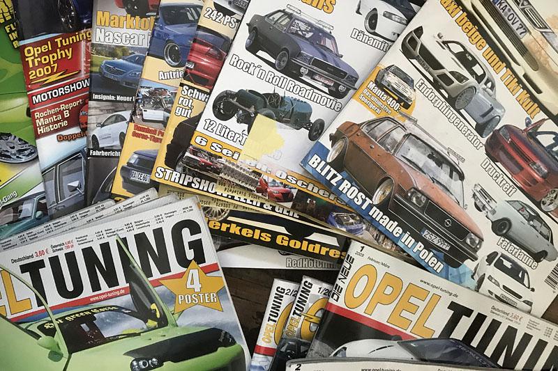 Dokumentation: Die Chronologie der Opel Tuning