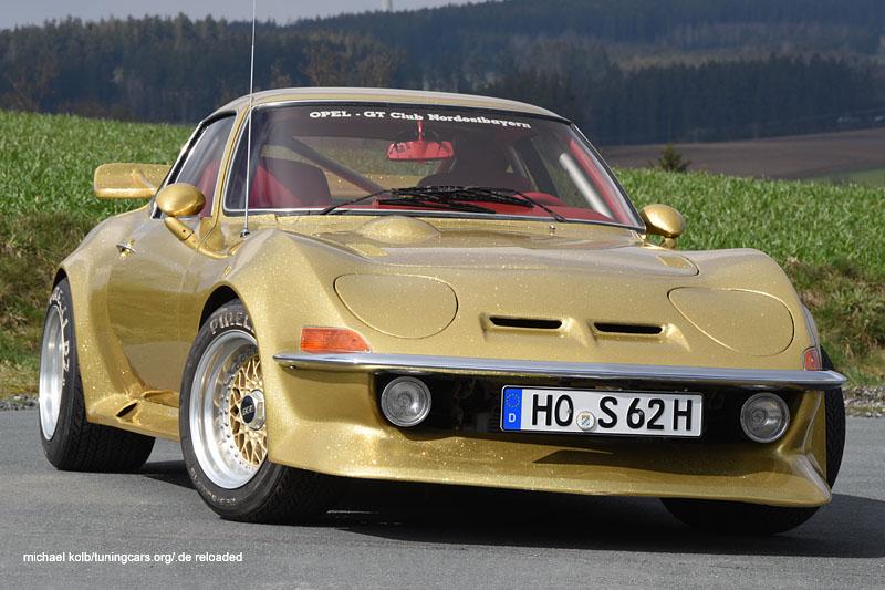 Opel GT Goldene Zeiten
