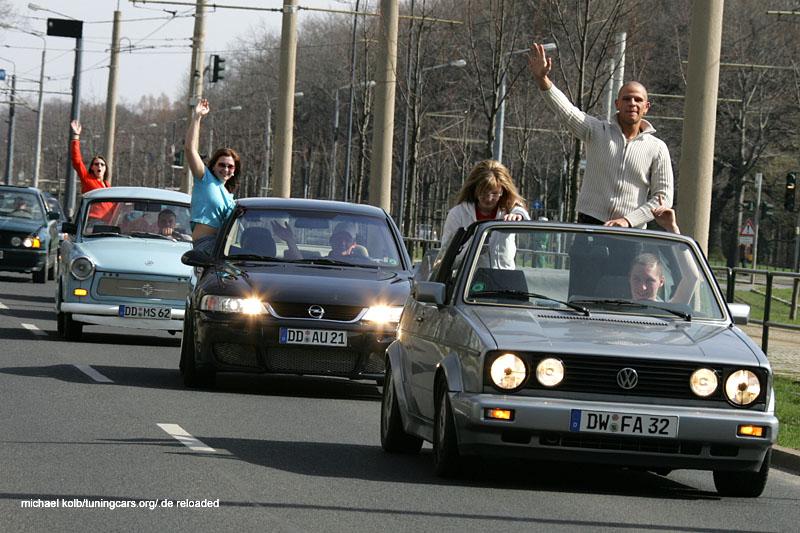 Demo durch Dresden