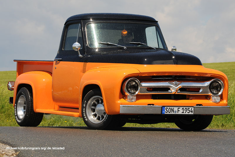 Mann fährt Ford: 54er F100 Pickup
