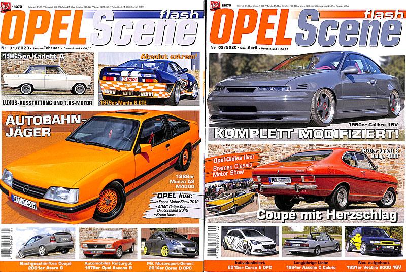 Veröffentlichungen Opel