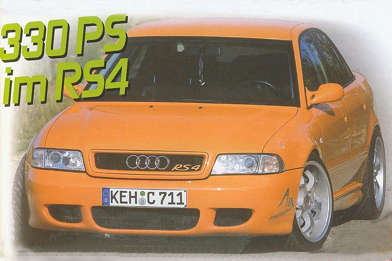 Audi RS4 Mister Perfekt