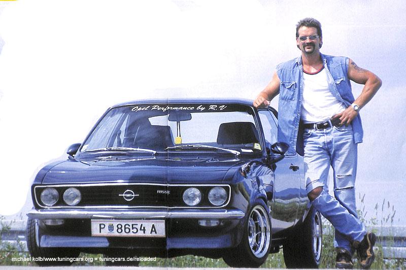 Opel Manta A verchromter Traum
