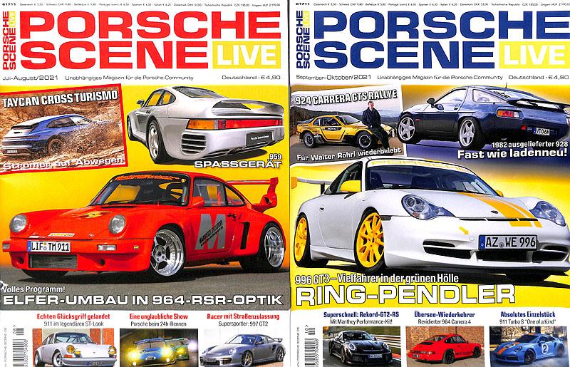 Aktuelle Veröffentlichungen Porsche