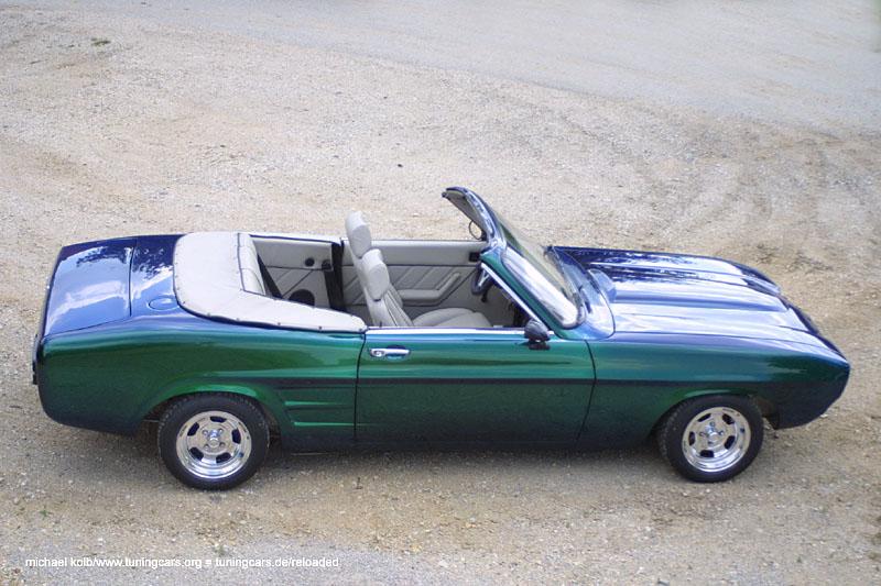 Ford Capri Cabrio Deutschländer
